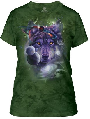 The Mountain Wolf of The Cosmos Adult Woman's T-Shirt