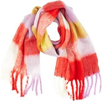 Vero Moda Women's Vmmaura Long Scarf, Hat & Glove Set, Multicolour High Risk Red)