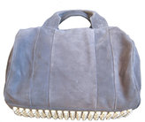 Rocco Mini Duffel in Navy Suede