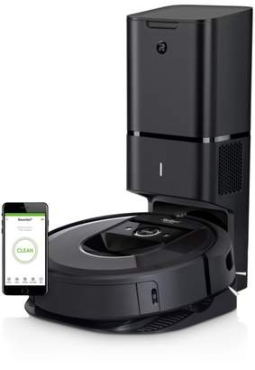 iROBOT Roomba® i7+ Wi-Fi® Connected Robot Vacuum with Automatic Dirt Disposal (7550)