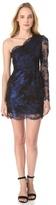 Madison Marcus Glimmer One Shoulder Dress