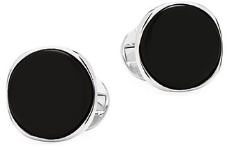 Cufflinks Inc. Ox & Bull Trading Co. Black Onyx & Sterling Silver Cufflinks