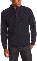 Pendleton Men's Shetland 1/2 Zip Sweater