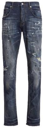 Purple Brand P002 Vintage Dirty & Distressed Jeans