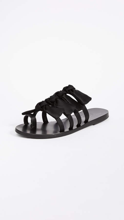 Ancient Greek Sandals Hara Bow Slide Sandals