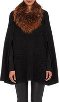 Barneys New York Women's Fur Cowl-BROWN