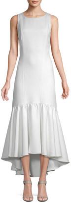 White Story Amani Frill Hem Dress