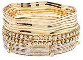 Charlotte Russe Glitter & Embellished Bangle Bracelets - 10 Pack