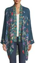 Johnny Was Summer Paisley Kimono, Plus Size