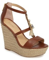 MICHAEL Michael Kors Women's Suki Platform Wedge Sandal