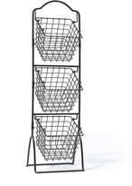 Gourmet Basics 3 Tier Metal Market Basket