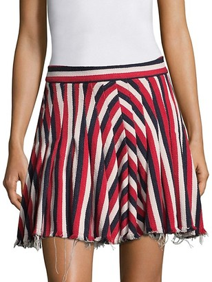 Maggie Marilyn My Darling Striped Mini Skirt