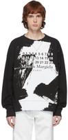 Maison Margiela Black Numbers Sweatshirt