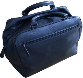 Bottega Veneta Navy Leather Bags