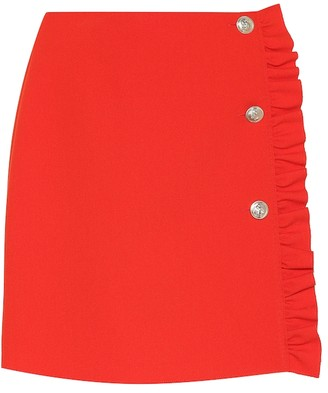 MSGM Crepe miniskirt