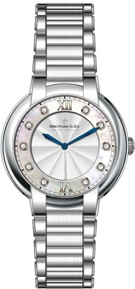 Dreyfuss Womens Analogue Classic Quartz Watch with Stainless Steel Strap DLB00060/D/01
