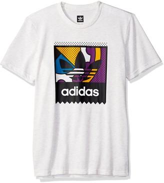 adidas Men's Skateboarding Logo Tee