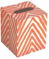 Worlds Away Kleenex Zebra Tissue Box Cover