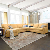 Asstd National Brand Fabric Possibilities Sharkfin-Arm 4-pc. Right-Arm Loveseat/Chaise Sectional