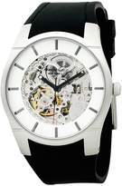 Kenneth Cole New York Kenneth Cole Automatic Strap White Skeleton Dial Men's Watch #KC1608