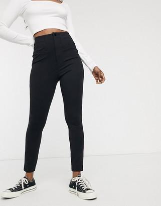 Free People Elena high rise skinny jeans-Black