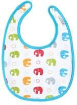 JJ Cole 0-6 Months Soft Bib, Primary Elephants