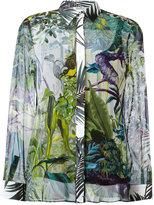 Max Mara floral print shirt - women - Silk/Spandex/Elastane/Viscose - 40
