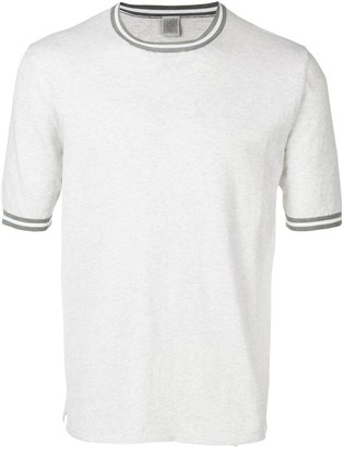 Eleventy knitted round neck T-shirt