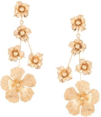 Jennifer Behr Nico small floral-drop earrings