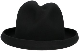 Yohji Yamamoto Rugged Fedora Hat