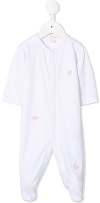 Kissy Kissy Embroidered Cotton Pyjamas