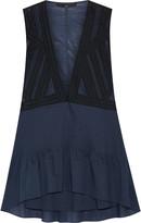 Tibi Layered cotton mini dress