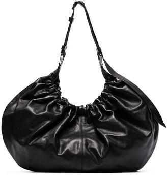 Ganni Ruched Shoulder Bag