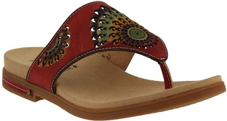 Spring Step L'Artiste by Leather Thong Sandals- Mayura