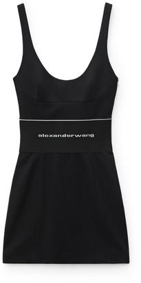 Collection Logo Elastic Mini Dress