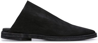 UMA WANG pointed slippers