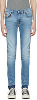 April 77 Blue Joey Kurt Deconstruct Jeans