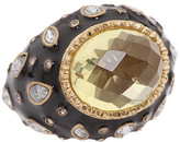 Juicy Couture Enamel w/ Center Stone Ring