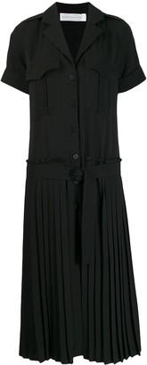 Victoria Victoria Beckham pleated skirt shirt dress