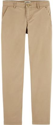 Osh Kosh Girls 4-14 Stretch Uniform Chino Pants