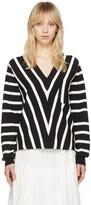 Chloé Black Striped Sailor Pullover