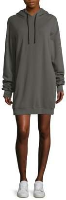 Cotton Citizen Milan Open-Back Sweatshirt Cotton Dress