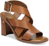 Franco Sarto Cymbal Strappy Block-Heel Dress Sandals