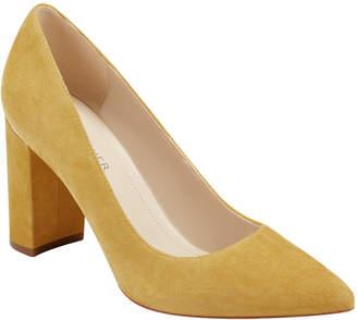 Yellow Block Heel Shoes ShopStyle