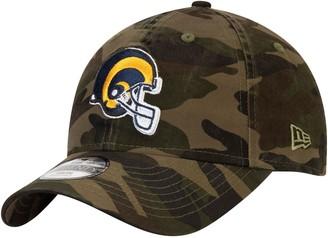 New Era Youth Camo Los Angeles Rams Core Classic Woodland Camo 9TWENTY Adjustable Hat