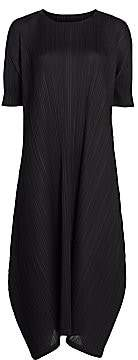 Pleats Please Issey Miyake Women's Monthly Colors February Midi Dress
