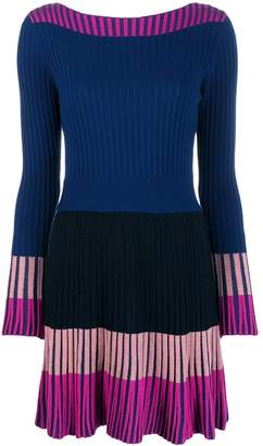 Pinko Contrast Panel Short Dress