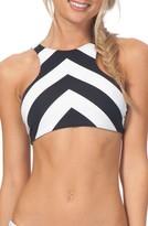 Rip Curl Women's Le Surf Reversible High Neck Bikini Top