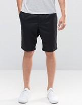 Pull&bear Chino Shorts In Black