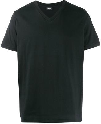 Diesel double hem T-shirt